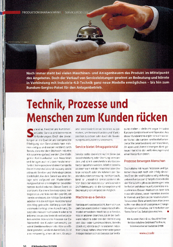 ajco in der IT&Production